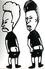 adesivo Beavis and Butthead sticker decal auto moto cartoon animazione funny
