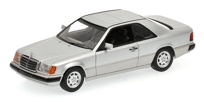 Minichamps Mercedes-Benz 300CE Coupé (W124) En Plata 1 43 Rara De Encontrar