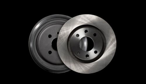 951380 Brake Disc Pair Front Axle