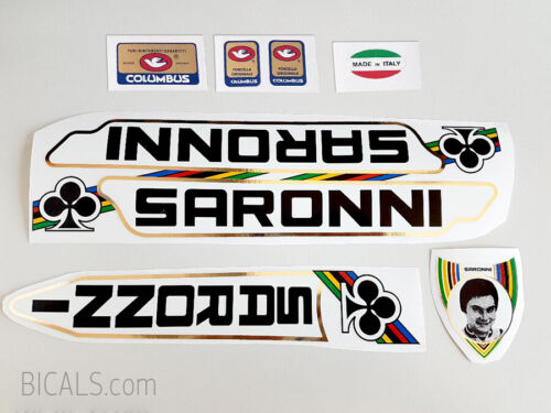 SARONNI decal set sticker complete bicycle FREE SHIPPING