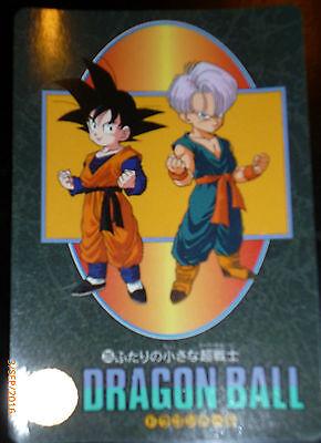 DRAGON BALL Z GT DBZ VISUAL ADVENTURE CARDDASS CARD CARTE 228 MADE JAPAN 1995 **