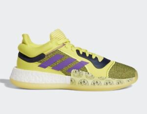 size 40 37ba9 9ac96 Image is loading Adidas-Marquee-Boost-Low-Ultraboost-Basketball-Shoes-Shock-