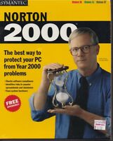 Sealed Vintage Software Symantec Norton 2000 Cd