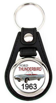 Ford 1967 Thunderbird Keychain T-Bird Key Fob