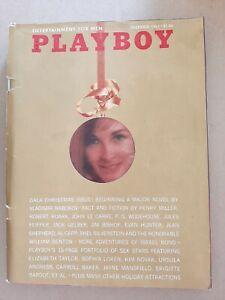 Vintage Playboy Magazine December 1965 Gala Christmas Issue