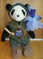 Peter Panda & Tinkerbear - North American Bear Co VIB - 1995 Disney Convention