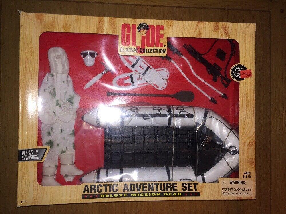 1998 Hasbro Gi Joe Classic Collection Arctic Adventure Action Fig Set,MISP (B71)