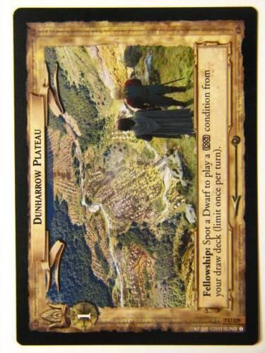 LOTR CCG Dunharrow Plateau 7//329 Lord of the Rings