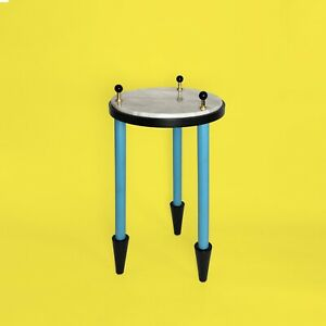 Gueridon-DLG-annees-80-Sottsass-Post-Moderniste-Memphis-Milano-side-Table-Marbre