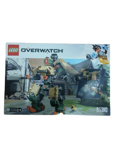Lego Overwatch Bastion 75974 age 10 new in box Blizzard Entertainment Battery