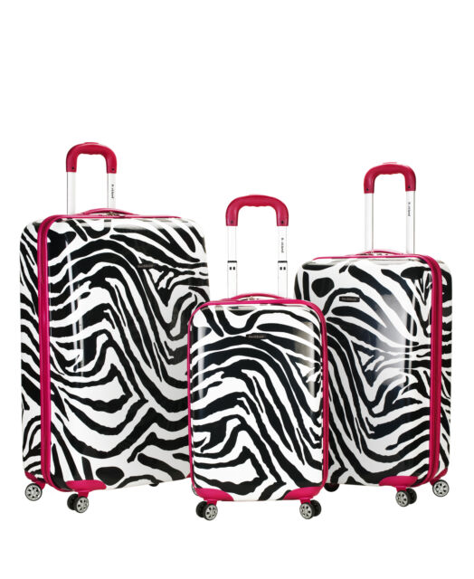 Zebra Suitcase Hard Case