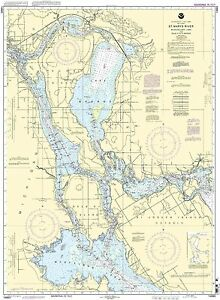 NOAA Chart St. Mary's River - Munuscong Lake to Sault Ste. Marie 44th Edition