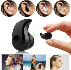 Mini Wireless Bluetooth 4.0 In-Ear Headset Earphone Earbud Earpiece