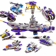 Enlighten 8 in 1 Space War 1402 Warship Military Building Blocks Kids Toy GIfts