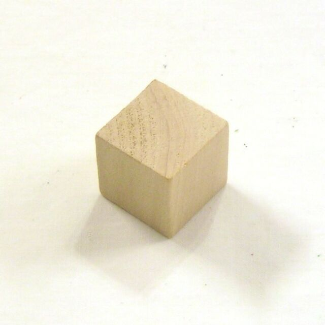 100 Wood Blocks 075 Inch 3 4 Unfinished Cubes