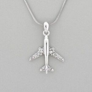 NEW Air Plane Necklace