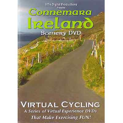 CONNEMARA IRELAND VIDEO CYCLING SCENERY BIKE JOG EXERCISE FITNESS DVD