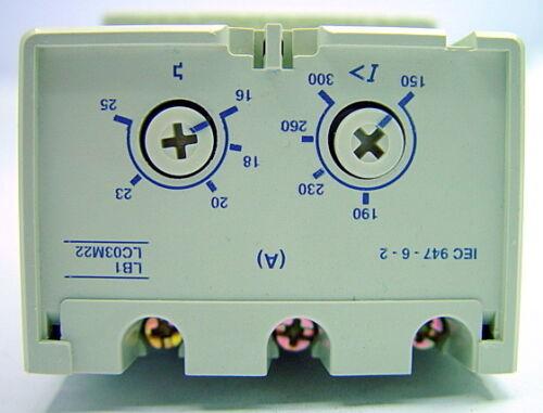 Telemecanique  Protecton Module 16-25 AMP Model LB1 LC03M22