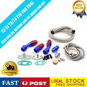 Huile-retour-Direction-Set-Kit-Convient-Pour-Turbocompresseur-Universal-an10-d10