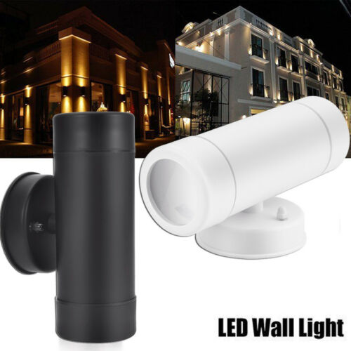 GU10 LED Wall Light Up /& Down Single-Head Dual Head Sconce Porch Outdoor Fixture