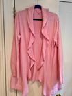 Lilly Pulitzer Pink Ladies XL Beautiful Cotton Cashmere Cardigan EUC