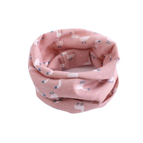 Warm Scarf Neckerchief Outdoor Baby Girls Boys Cotton Snood Scarves Child Kids