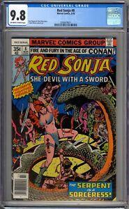 Red-Sonja-8-CGC-Graded-9-8-NM-MT-Marvel-Comics-1978