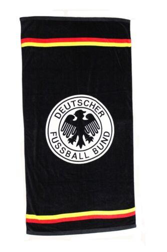 "GERMANY Black Deutscher. 56/"" X 28/"" Inch Logo FIFA World Cup BEACH TOWEL..Size"