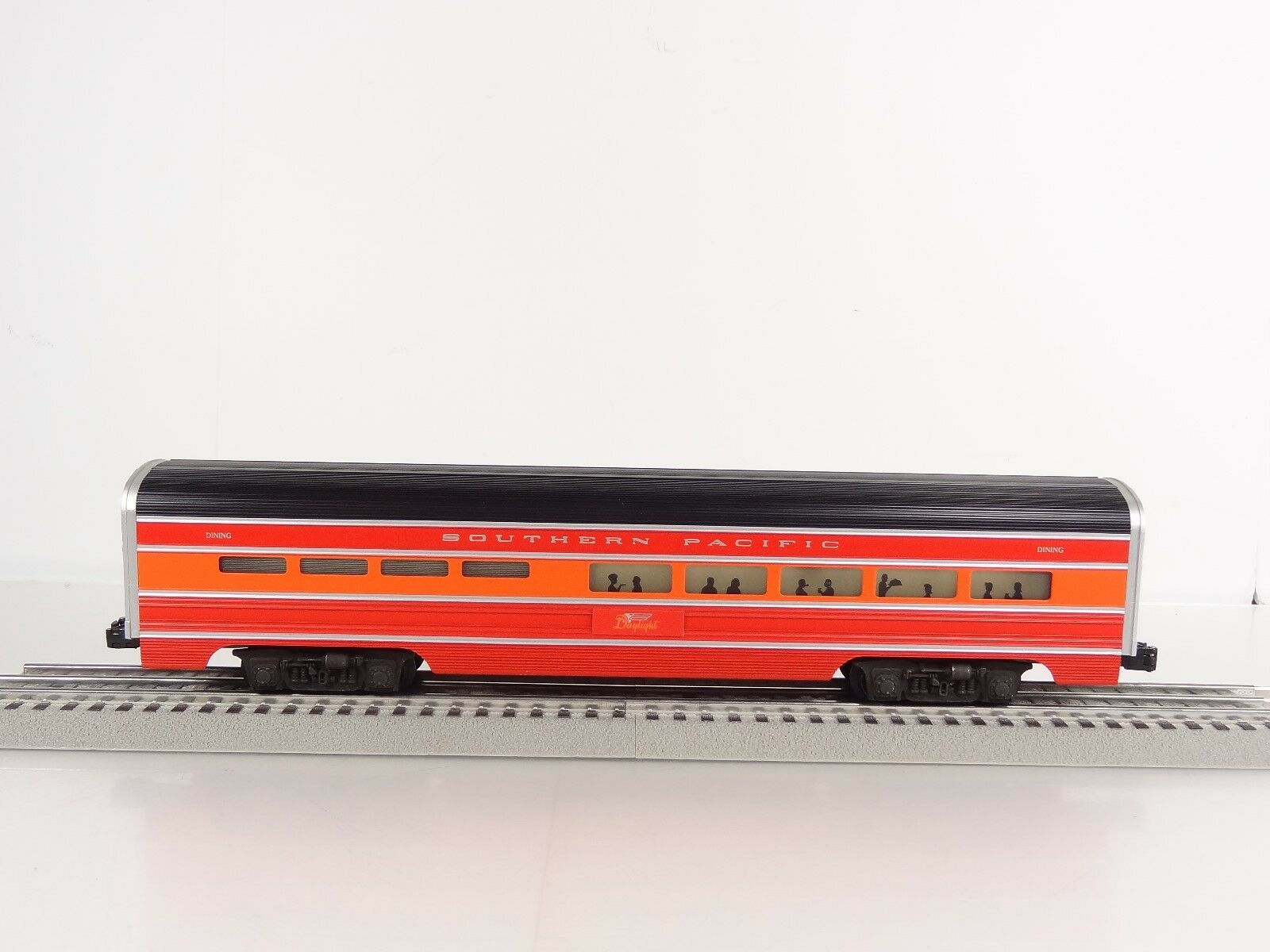 Lionel O Scale Southern Pacific SP Aluminum Dining Passenger Car 6-7204 New