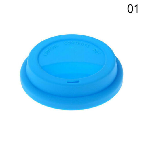 Silicone Tea Cup Coffee Mug Lid Anti-Dust Suction Glass Drink Cover Cap 1pc
