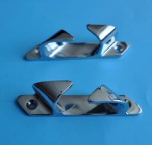 "Pair Set Stainless Steel Marine Skene Bow 4-1//2/"" Chocks For Boats"