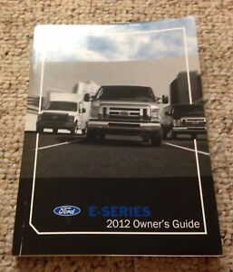 ford  series   super duty van owner manual user