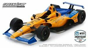 GREENLIGHT-COLLECTIBLES-11061-FERNANDO-ALONSO-INDY-CAR-diecast-model-1-18th
