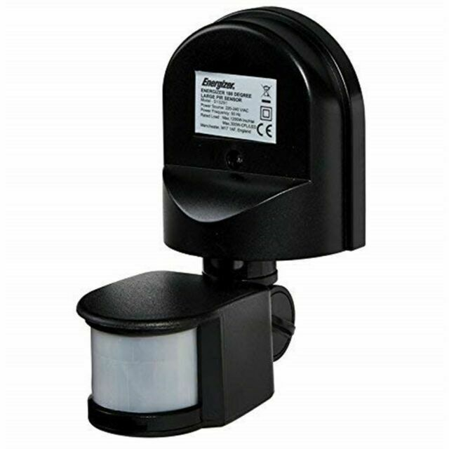 Energizer PIR 180 Standalone Motion Sensor Large IP Rated Products S13291