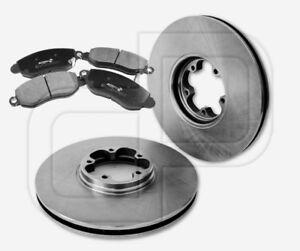 2-Bremsscheiben-und-4-Bremsbelaege-FORD-vorne-Vorderachse-294-mm-belueftet