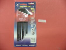 New EKLIND Ball End 7 Pc Hex L Key Allen Wrench Set 13207 SAE Made in USA