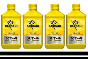 4-LITRI-OLIO-MOTORE-MOTO-4T-4-TEMPI-Bardhal-Bardahl-XT-4-XT4-C60-RACING-10W60