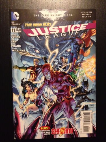 DC Comics New 52 2012 Geoff Johns /& Jim Lee Near Mint NM! Justice League #11