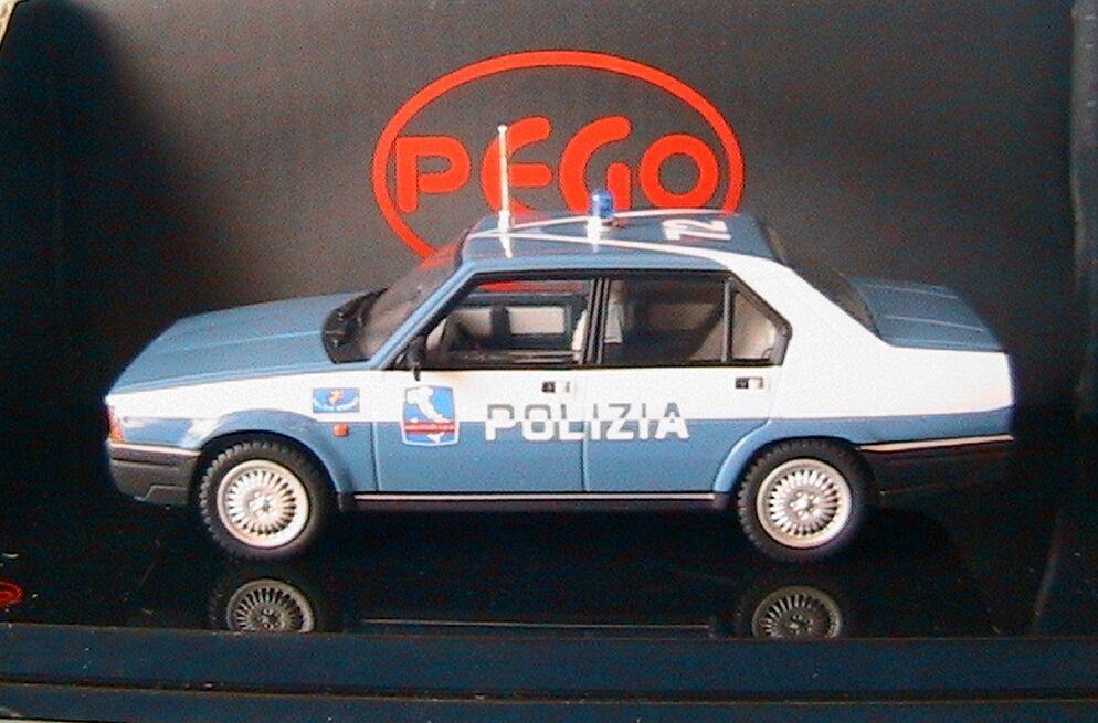 ALFA ROMEO 90 E SUPER POLIZIA AUTOSTRADE PEGO PG1012 1 43 ITALIA AUTorUTE