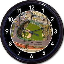 "Fenway Park Wall Clock Baseball Boston Red Sox MLB Stadium Vintage Postcard 10"""