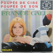 """7"""" RARE FRENCH EP MINT-! GRAND PRIX 1965 (LUX) FRANCE GALL Poupee De Cire De Son"""