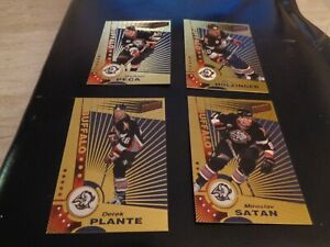 Lot of 4 Diff. 1997-98 Pacific Dynagon Hockey Buffalo Sabres - #s11-14   EX-MT