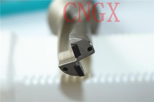 2PCS SPMG060204 1P C25-3D21-66SP06 U drill 21mm-3D indexable drill