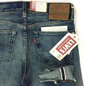 e4e788b6 Levi's 501z XX Vintage 1954 Selvedge Big E Blue Jeans Men Size 28x32 ...