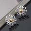 Elegant-Women-925-Sterling-Silver-Plated-Hollow-Daisy-Ear-Stud-Earring-Jewelry thumbnail 1