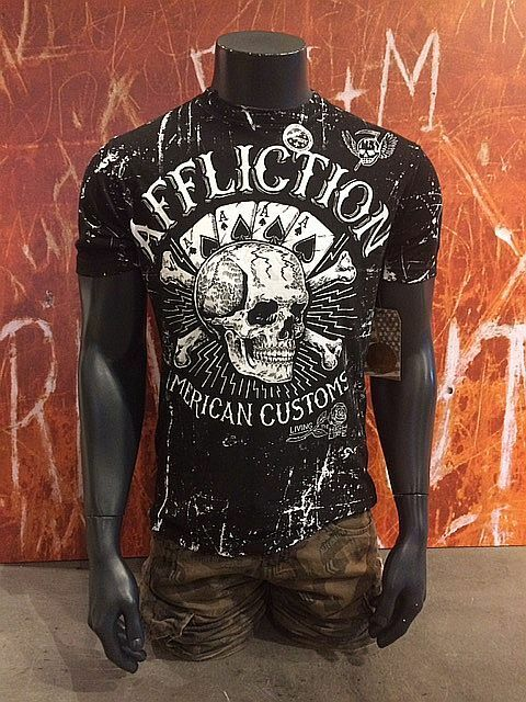AFFLICTION SHIRT T-Shirt a242    HIGH LIFE   WENDESHIRT