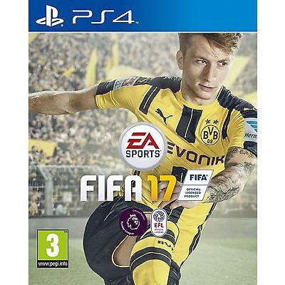 FIFA 17 PS4 BRAND NEW UK PAL