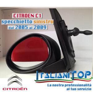 Specchietto retrovisore completo Sinistro