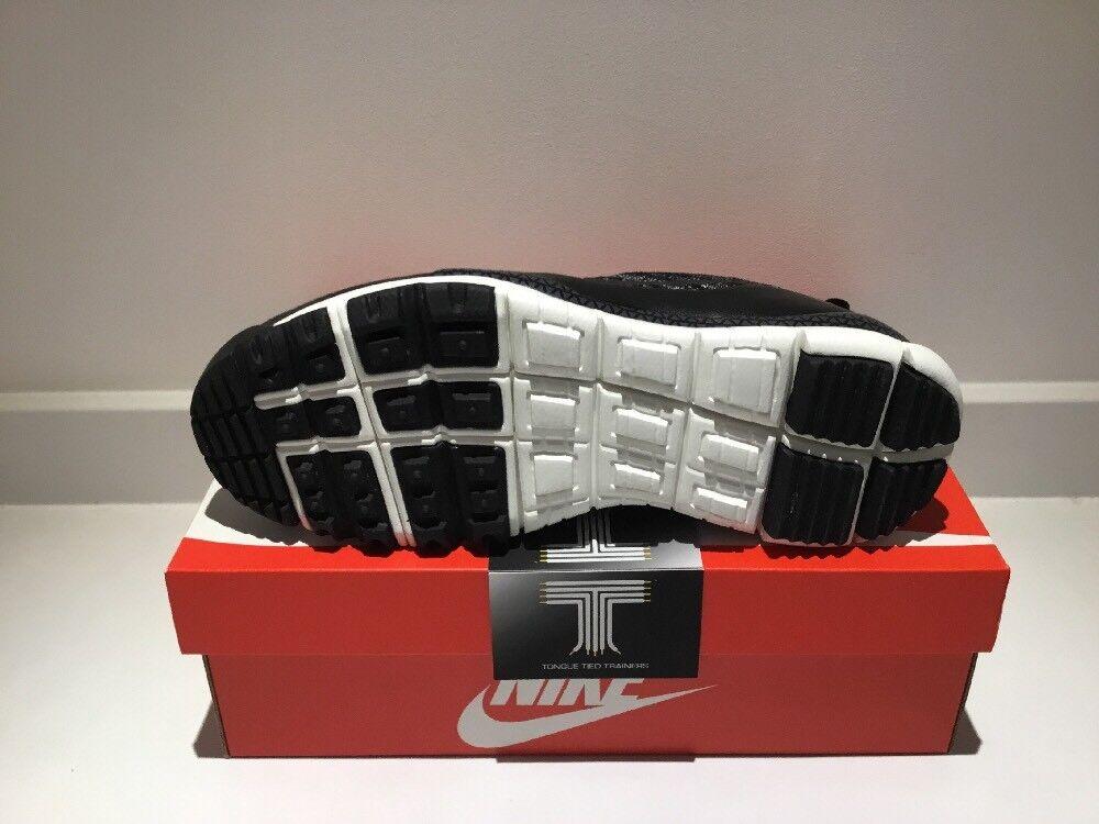 """Nike Lupinek Flyknit Uk Low """"Oreo"""" ~ 882685 100 ~ Uk Flyknit Size 9.5 b8086c"""