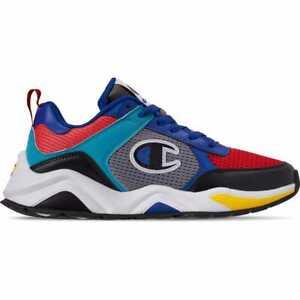 7f6114465e463 Men s Champion 93Eighteen SP Block Casual Sneakers Black Multi ...
